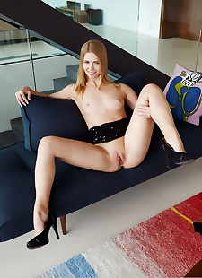 xxx pics Young blonde Violette Pink puts her, ass , blonde