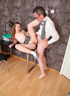 xxx pics Young schoolgirl Sara gets cum on tiny, ass  panties