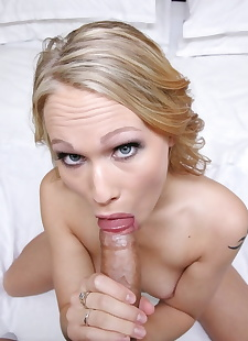 xxx pics Charming blonde Dakota James does a, blonde , pov