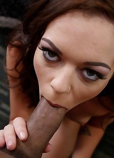 xxx pics Slim dark haired beauty Stella Daniels, brunette , amateur