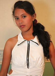 xxx pics Young Filipino girl celebrates turning, panties , hairy