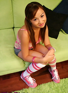xxx pics Young Asian babe Tia Tanaka shows her, ass , panties