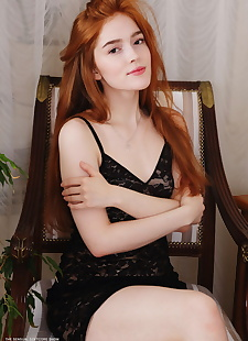 xxx pics Beautiful redhead Jia Lissa eats a, ass , hairy
