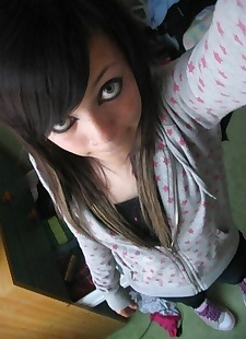 xxx pics Self-shots of emo teens looking cute -, lingerie , panties