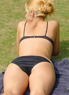 xxx pics Compilation of naughty amateur, ass , beach