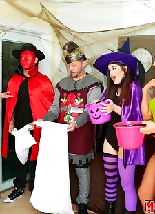 xxx pics Cory chase fucked on scary halloween, Cory Chase , blowjob , big tits
