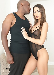 xxx pics Lily Adams in a great interracial fuck, interracial , brunette